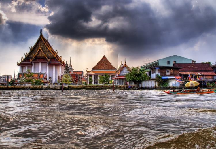 Buddist Temple Water